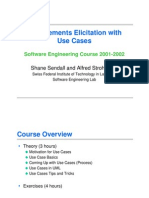 Requirements Elicitation With Use Cases 2005-05-22