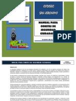 Manual Comites Seguridad Ciudadana 2013
