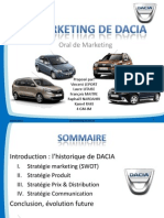 Marketing DACIA