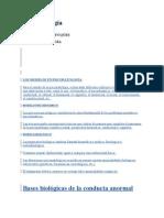 Modelos Psicopatología