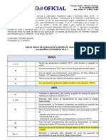 calendario academico 2013.1