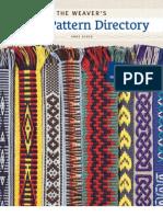 71152118 Weaver s Inkle Pattern Directory BLAD Web