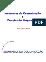 elem.da comun. e funções da ling.