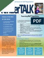 Learning Self-Regulation in Kindergarten