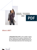 RBT (RING BACK TONE)