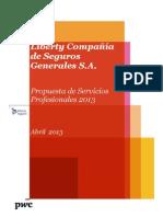 PwC Carta de Contratacion de Servicios de Auditoria
