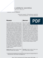 Articulo Revista Logos Zubiri y La Sabiduria Socratica