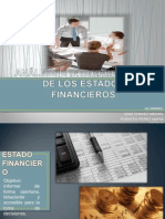 ANÁLISIS E INTERPRETACIÓN DE LOS ESTADOS FINANCIEROS EXPOSICION