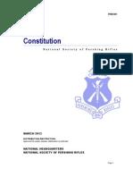 PRM 001 - Pershing Rifles Constitution (Revised 2013)
