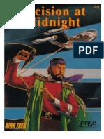 FASA Star Trek RPG - Decision at Midnight