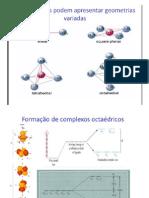 Aulas 6 e 7 Complexos Octac3a9dricos Tetrac3a9dricos e Quadrado Planares (1)
