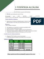 Quimica Clinica Fosfatasa Alcalina