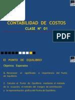 Trabajo Puntodeequilibrio 130102195611 Phpapp02
