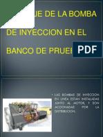 Bomba de Iny. Banco de Pruebas