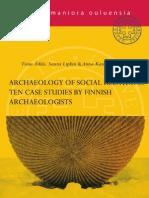 Arqueología de las Relaciones Sociales 2012