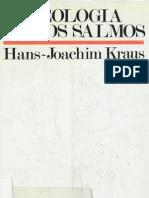 Kraus, Joachim - Teologia de Los Salmos