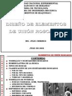 TEMA 4 DISEÑO DE SUJETADORES ROSCADOS