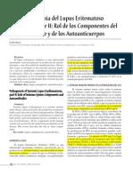 Inmunopatogenia Lupus Eritematoso Sistemico Parte2 Evelyn Silva