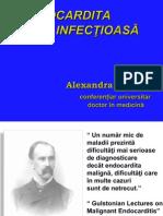Endocardita infecțioasă prelegere PDF