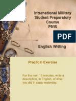 07 - English Writing