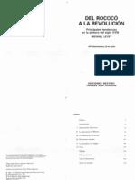 LEVEY, Michael-Del rococó a la revolución