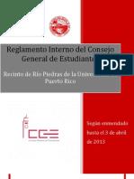 Reglamento Interno del Consejo General de Estudiantes