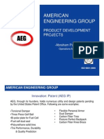 AEG Product Development Portfolio
