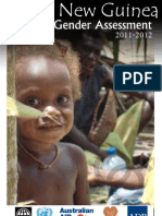 Papua New Guinea Country Gender Assessment 2011-2012 Final Report