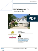 Property Report - 1323 Wintergreen Lane in Blue Springs, MO 64015