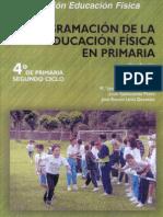 Programacion de La E.F. en Primaria 4o Grado
