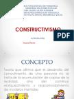 PRESENTACION CONSTRUCTIVISMO