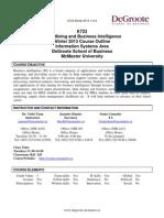 K723 Outline W2013