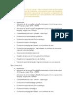 Actividades Proceso Eval y Reev. (Plataforma) 2013