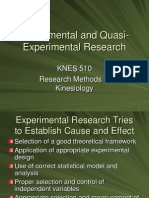18 - Experimental and Quasi-Experimental Research