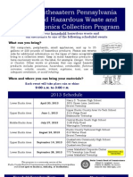 Bucks County Household Hazardous Waste Collection