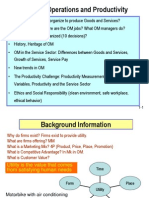 Operations Management Intro Powerpoint