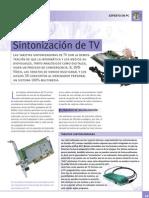 Sintonizacion de TV