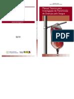 Manual Técnico para Investigação da Transmissão de Doenças pelo Sangue
