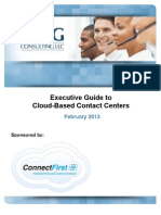 Executive Guide to Cloud-Based Contact Centers