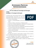 ATPS - Estratégia em Tecnologia da Informacao