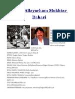 sejarah mokhtar dahari