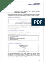 PORTAFOLIO DE MATEMATICAS CAPITULO 1 LÓGICA Y CONJUNTOS
