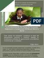 Fundamentacion-Del Campo De Formación Exploración y comprension del mundo natural y social