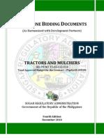 PBD Tractors Mulchers