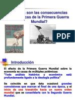 Consecuencias Economicas de La Primera Guerra Mundial 13281