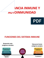 Tolerancia Inmunologica y Autoinmunidad (2)