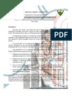 Buhay Bata - BAHAY at LANSANGAN Research Paper