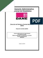 Metodologia Agroindustria DANE