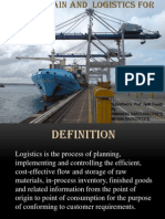 Supply Chain and Logistics for Ports