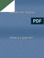 Forensic Hair Analysis